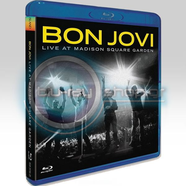 Bon jovi live at madison square garden blu ray hd for Bon jovi madison square garden