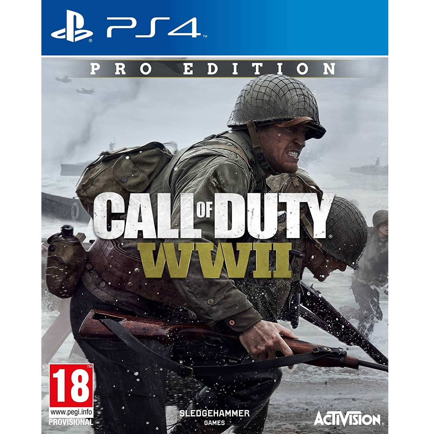 call of duty wwii pro edition ps4 hd. Black Bedroom Furniture Sets. Home Design Ideas