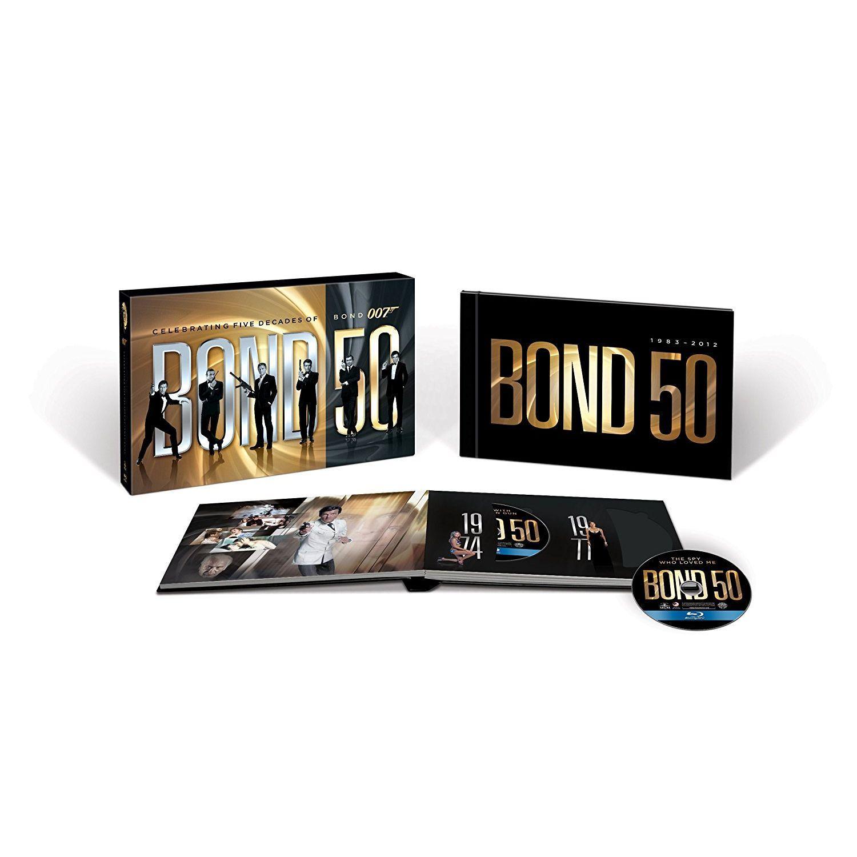 JAMES BOND 50 YEARS ANNIVERSARY 22 FILMs LIMITED EDITION BOX SET