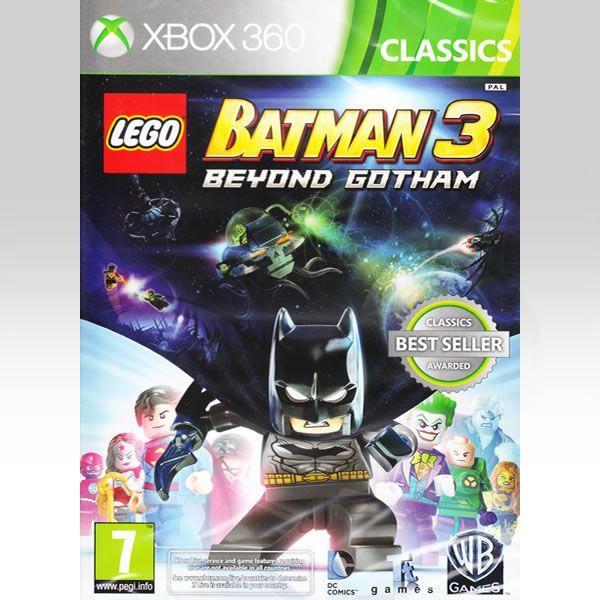 LEGO BATMAN 3: BEYOND GOTHAM - CLASSICS (XBOX 360)   Blu-rayshop.gr