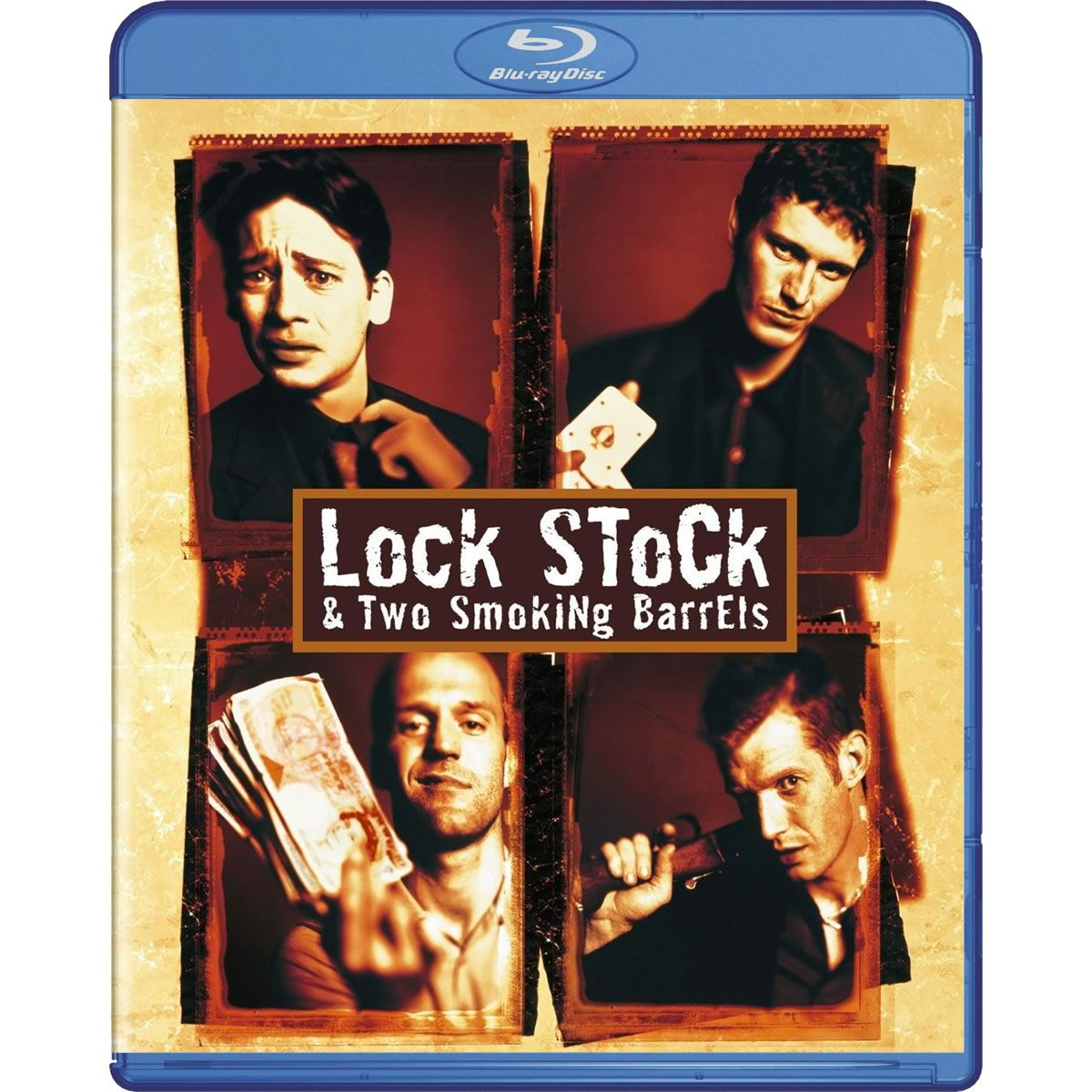 Lock stock and two smoking barrels live
