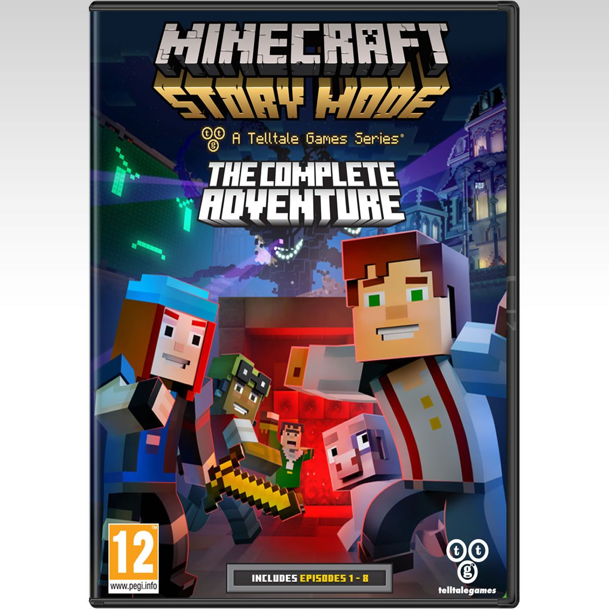 MINECRAFT: STORY MODE - THE COMPLETE ADVENTURE (PC) | HD-shop gr