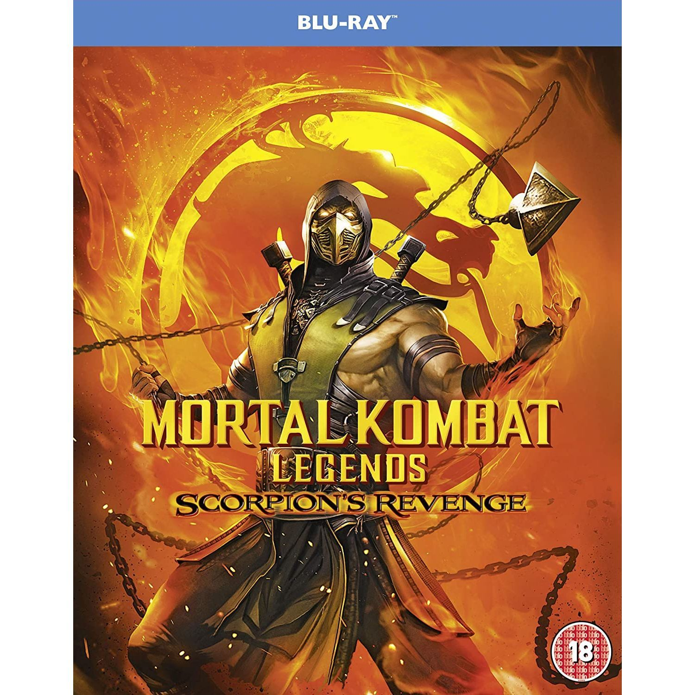 Mortal Kombat Legends Scorpion S Revenge Imported Blu Ray