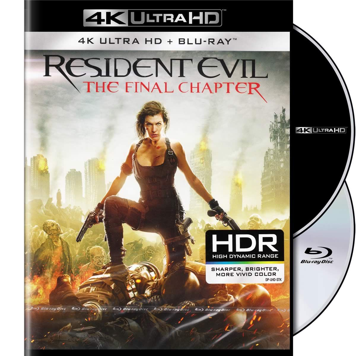Resident evil the final chapter resident evil 4k uhd blu - Resident evil final chapter 4k ...