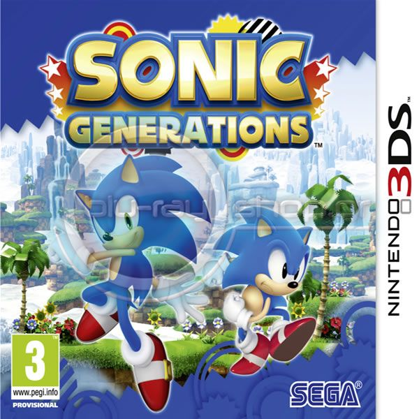 SONIC GENERATIONS (3DS) | HD-shop gr