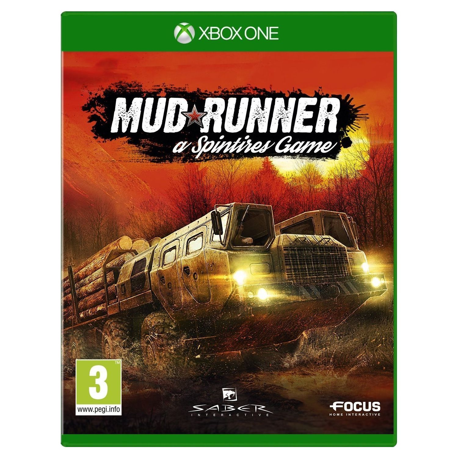 spintires mudrunner xbox one hd. Black Bedroom Furniture Sets. Home Design Ideas