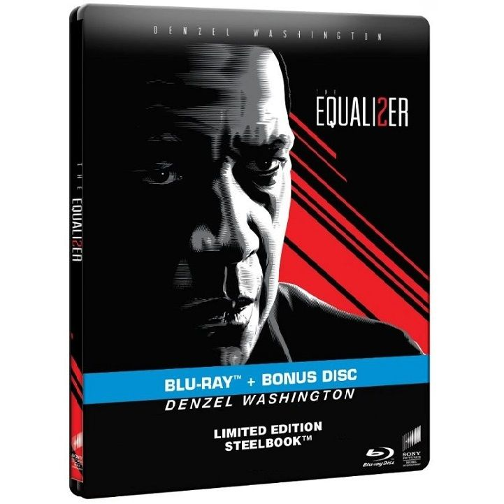 THE EQUALIZER 2 Limited Edition Steelbook [Import] (BLU-RAY