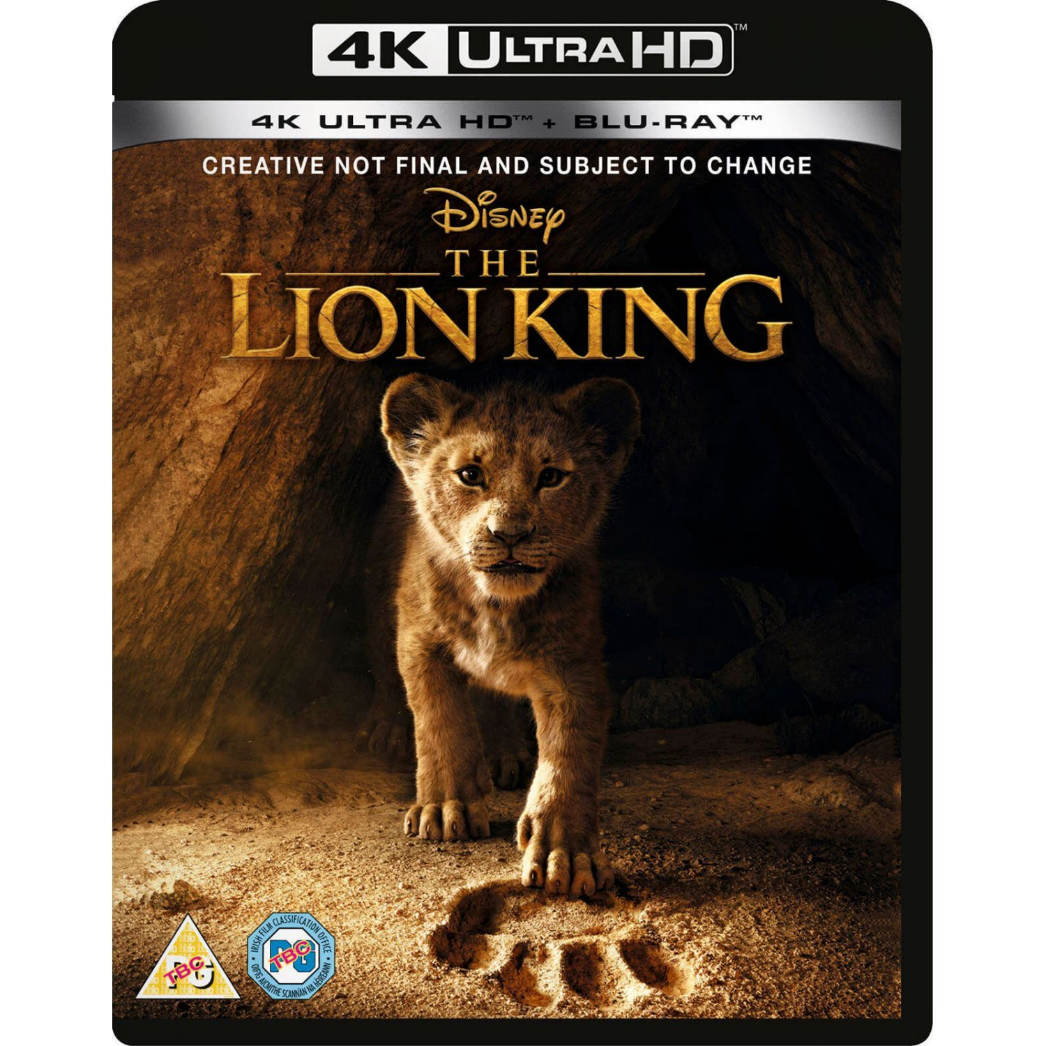 The Lion King 2019 Imported 4k Uhd Blu Ray Blu Ray