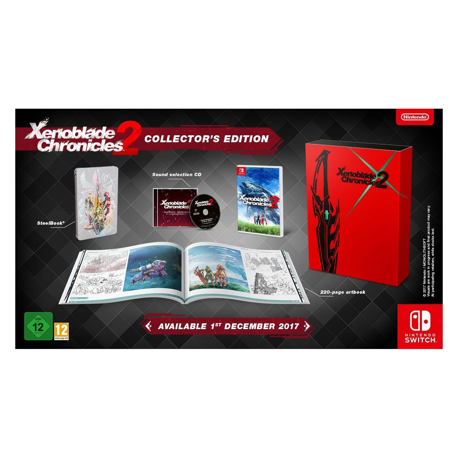 Xenoblade Chronicles 2 Limited Collectors Edition Nsw Hd Shopgr Switch English Us